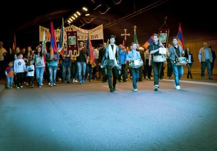 На 24 април годишнината от геноцида над арменците ще бъде отбелязана със запалени свещи
